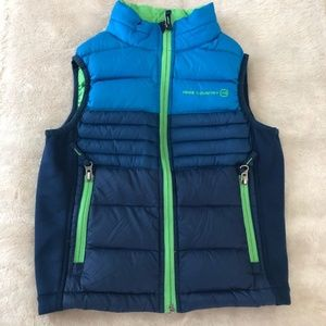 Free Country Boys Blue Down Vest Size XS (5/6)